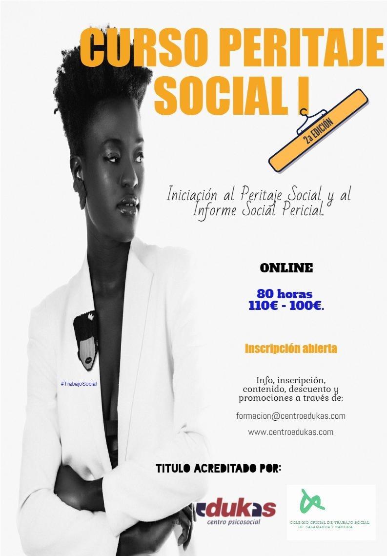 Curso Peritaje Social I - 2ª EDICIÓN online