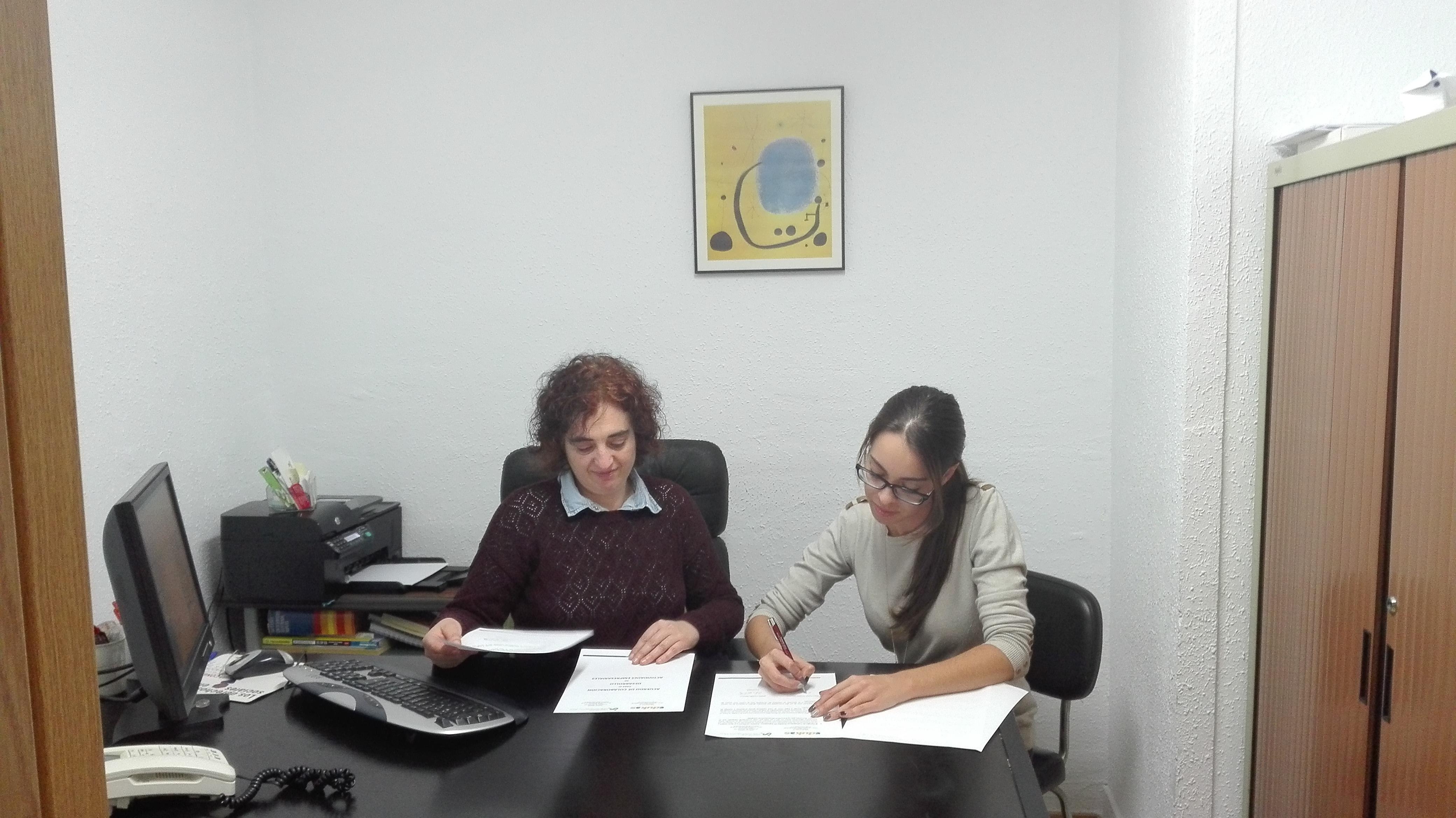 El Colegio Profesional de Trabajo Social de Salamanca y Zamora junto a Edukas Psicosocial, firma un convenio empresarial por el desarrollo del Trabajo Social