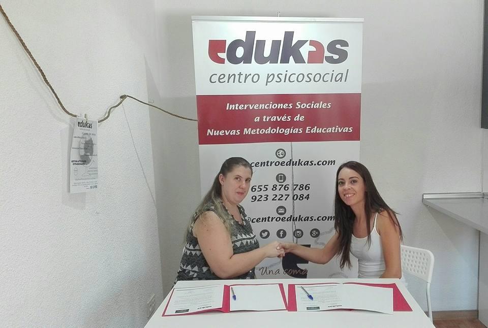 Convenio Colaborador con Empresas. EDUKAS - CON.JUGANDO LEDESMA