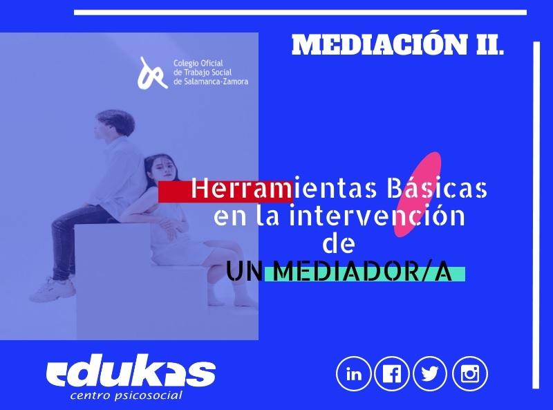 Curso Herramientas Básicas en la Intervención de UN/A MEDIADOR/A.