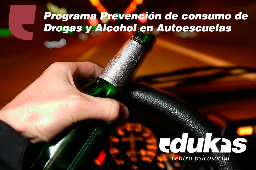 Programa Prevención de consumo de Drogas y Alcohol en Autoescuelas, Bachillerato y ciclos formativos (FP)